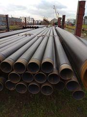 Трубы стальные,  услуги изоляции ВУС и ППУ